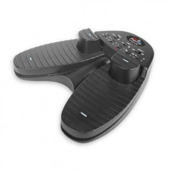 Kojinis pedalas natų vertimui Dragonfly Bluetooth/USB/Quad PageFlip