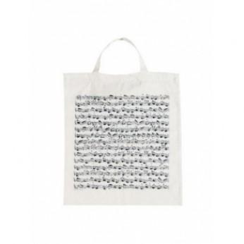 Medžiaginis maišelis su natomis baltai/juodas Petz