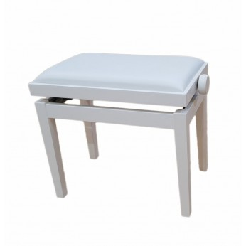Kėdutė pianistui BG-27W balta Hidrau Model