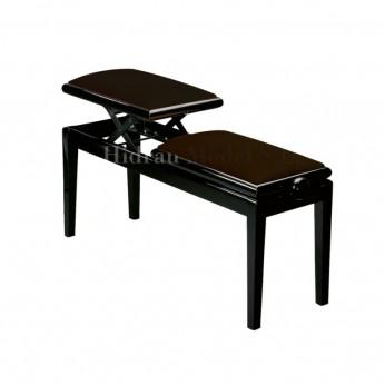 Dviguba pianistų kėdutė BG4 Hidrau Model
