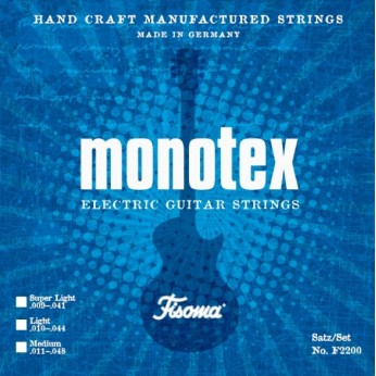 Stygos elektrinei gitarai Monotex 11-48 Fisoma