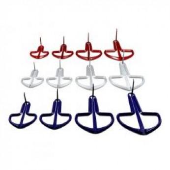 Dambrelis austriškas XL mėlynas/ pilkas/ raudonas Terre