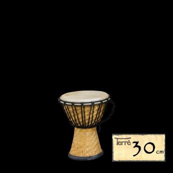 Džembė Bamboo 30cm Terre