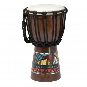 Džembė African Paint 30cm Terre
