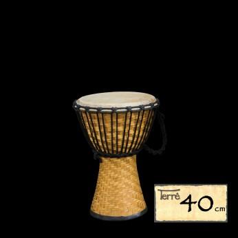 Džembė Bamboo 40cm Terre
