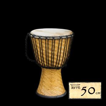 Džembė Bamboo 50cm Terre