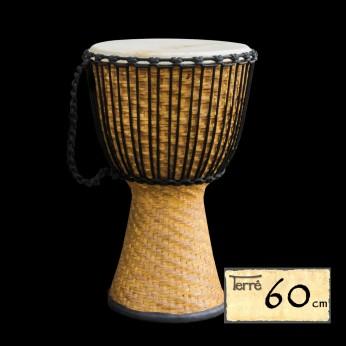 Džembė Bamboo 60cm Terre