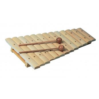 Ksilofonas 13 natų medinis natūralus 11200 Goldon