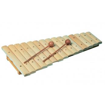 Ksilofonas 15 natų medinis natūralus 11210 Goldon