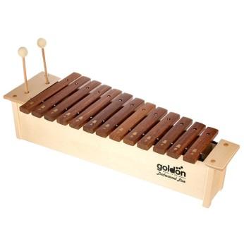 Ksilofonas sopraninis 16 natų 10200 su lazdelėmis Goldon