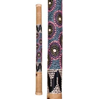 Lietaus lazda bambukinė spalvota 80cm Terre