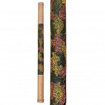 Lietaus lazda bambukinė spalvota100cm Terre