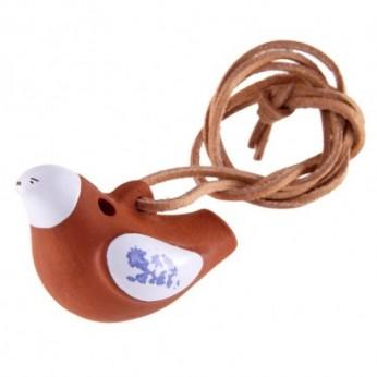 Ocarina pakabinama ant kaklo paukštelis Dan Moi