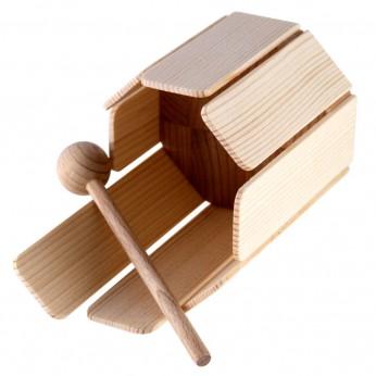 Daugiabalsė medinė dėžutė Mini 7,5cm Dan Moi