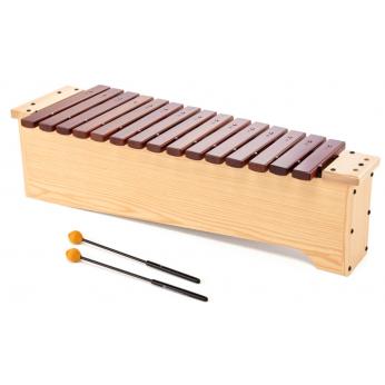 Ksilofonas tenorinis-altinis diatoninis Orff Bergerault