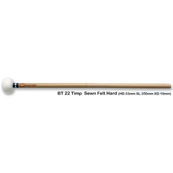 Lazdelės timpanams bambukinės BT22 kietos Chalklin