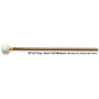 Lazdelės timpanams bambukinės BT23 vidutinio kietumo Chalklin