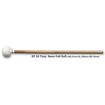 Lazdelės timpanams bambukinės BT24 minkštos Chalklin