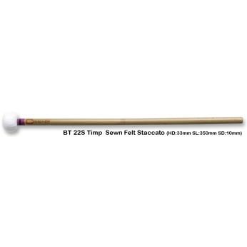 Lazdelės timpanams bambukinės BT22S staccato Chalklin