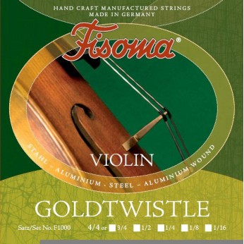 Stygos smuikui 4/4 Goldtwistle Fisoma