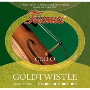 Stygos violončelei 1/8 Goldtwistle Fisoma