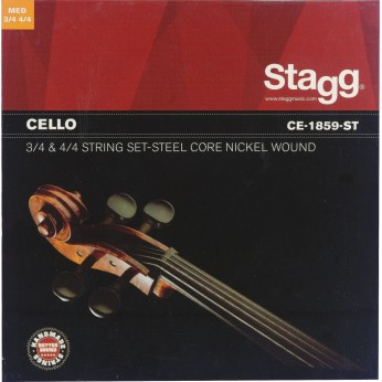 Stygos violončelei 3/4 4/4 Stagg