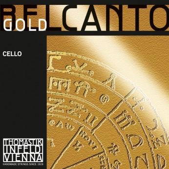 Stygos violončelei  Belcanto gold Thomastik