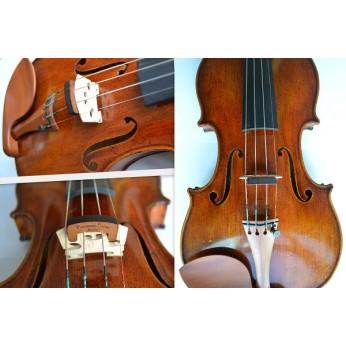Surdina smuikui odinė su ornamentais Wiessmeyer