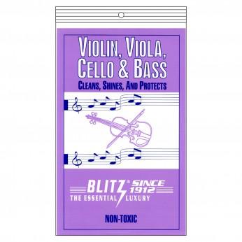 Skudurėlis smuikui/altui/ violončelei/ kontrabosui valyti Blitz