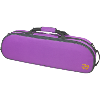 Dėklas smuikui 4/4 ovalus violetinis Tom&Will