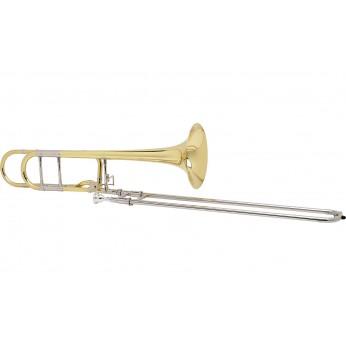 Trombonas tenorinis su kvartventiliu AC280 A.Courtois